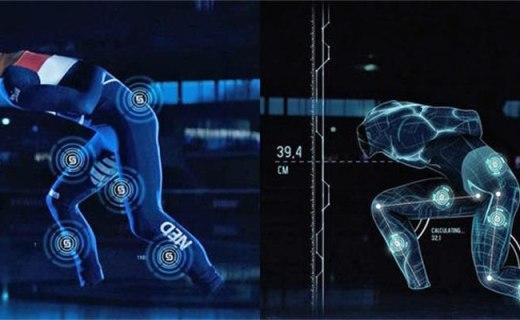 三星推出体育智能产品,滑冰选手智能服装
